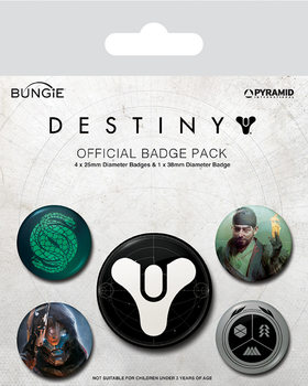 Badge set Destiny - Guardians of Light