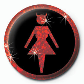 DEVIL WOMAN Badge