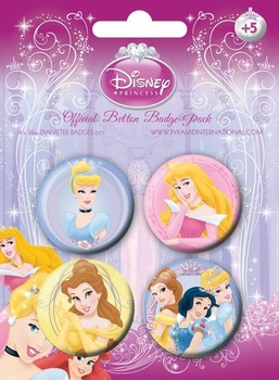 DISNEY PRINCESS 2 Badge Pack
