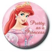 DISNEY PRINCESS - pretty as a princess Badge