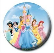 DISNEY PRINCESS - princesses Badge