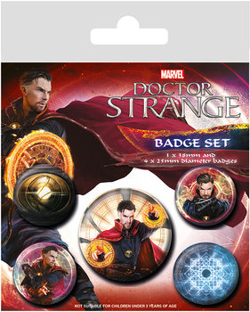Badges Docteur Strange  - Magic