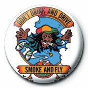 DON'T DRINK AND DRIVE Badge