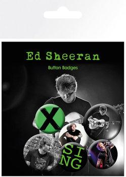 Ed Sheeran - Singer Badge Pack