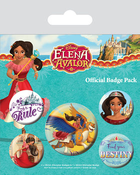 Elena of Avalor Badge Pack