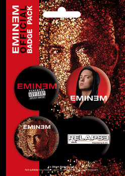 EMINEM - relapse Badges
