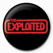 EXPLOITED (RED LOGO) Badges