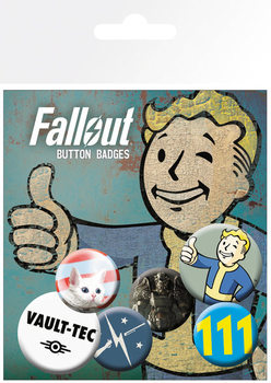 Fallout 4 - Mix 1 Badge Pack
