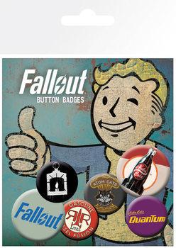 Badge set Fallout 4 - Mix 2