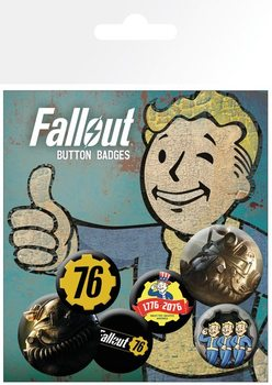 Fallout 76 - T51b Badge Pack