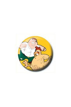 FAMILY GUY - chicken Badge