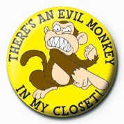 Family Guy (Evil Monkey) Badge