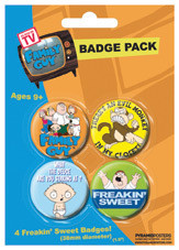 FAMILY GUY Badge Pack