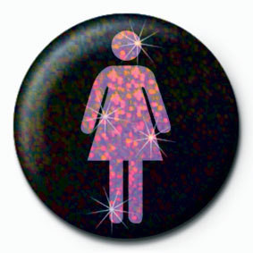 FEMALE ICON Badge