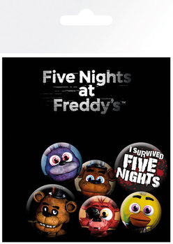 Five Nights at Freddys Badge Pack