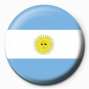 Flag - Argentina Badge