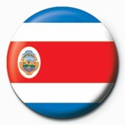 Flag - Costa Rica Badges