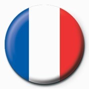 Flag - France Badge