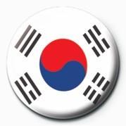 Flag - Korea Republic Badge