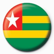 Flag - Togo Badge
