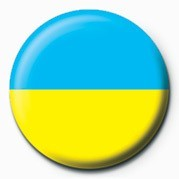 Flag - Ukraine Badge