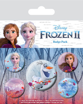 Frozen 2 Badge Pack