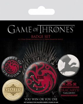 Game of Thrones - Fire and Blood Badge Pack