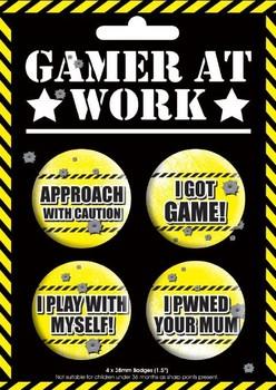 GAMING Badge Pack