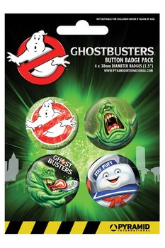 Badges GHOSTBUSTER - slimer