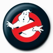 GHOSTBUSTERS - symbol logo Badge