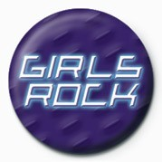 GIRLS ROCK Badge