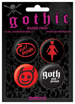 GOTHIC Badge Pack