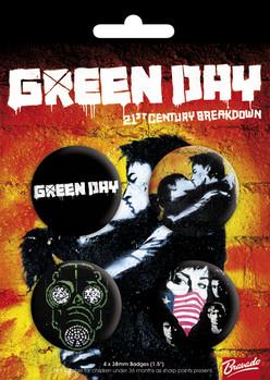 GREEN DAY - bravado Badge Pack