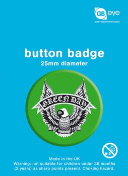 GREEN DAY - green eagle Badge