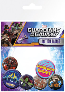 Guardians Of The Galaxy - Characters Badge Pack