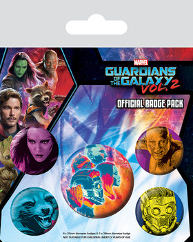 Guardians of the Galaxy Vol. 2 - Cosmic Badge Pack