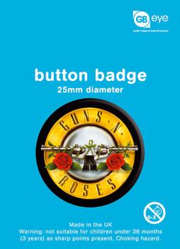 GUNS'N'ROSES - logo Badge