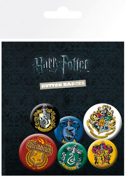 Harry Potter - Crests Badge Pack