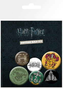 Badges Harry Potter - Mix