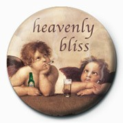 HEAVENLY BLISS Badge