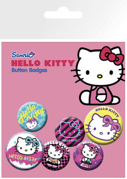 Hello Kitty - Nu Rave Badge Pack