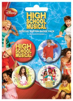 HIGH SCHOOL MUSICAL 2 Badge Pack