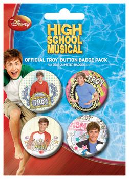 HIGH SCHOOL MUSICAL - Troy Badge Pack
