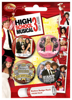 HSM3 - Prom Badge Pack