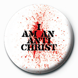 I AM AN ANTICHRIST Badges