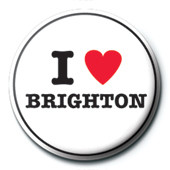 I Love Brighton Badges