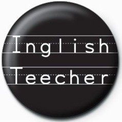 Inglish Teecher Badge
