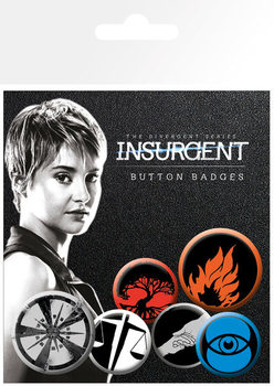 INSURGENT Badge Pack