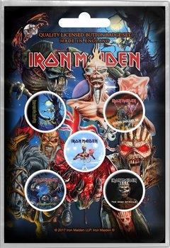 Iron Maiden – Later Albums Badge Pack