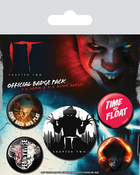 IT: Chapter Two - Clown Badge Pack
